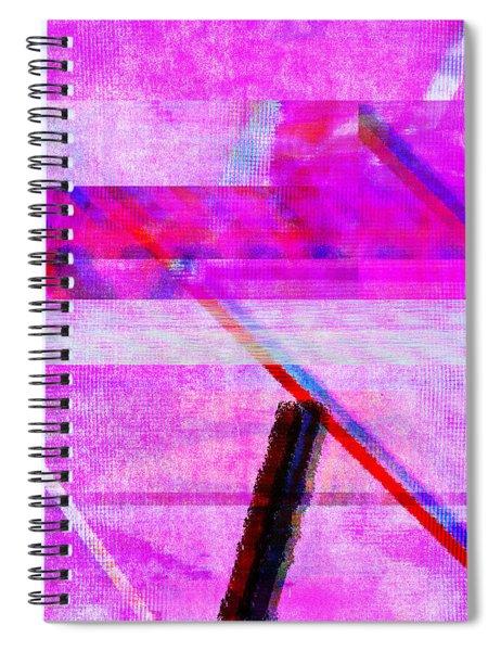 Databending #1 Spiral Notebook
