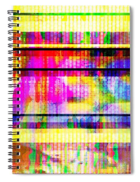 Databending #2 Hidden Messages Spiral Notebook