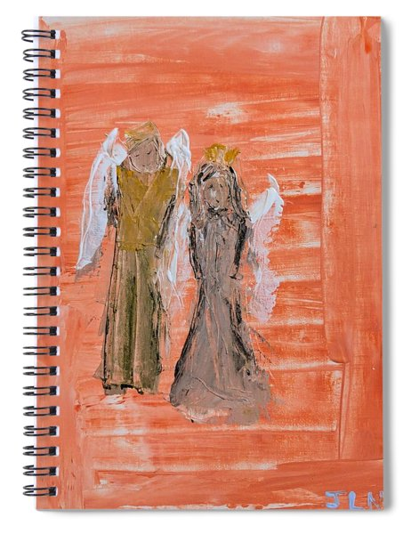 Dating Angels Spiral Notebook