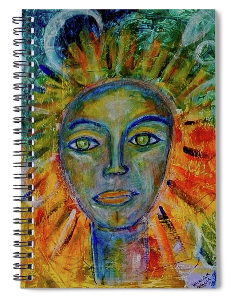 Daughter Of The Sun And Moon Spiral Notebook