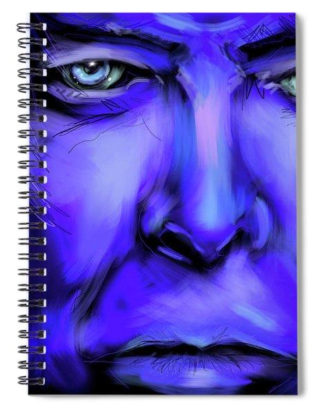 David Bluey Spiral Notebook