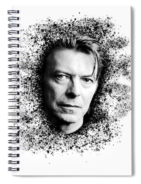David Bowie #2 Spiral Notebook