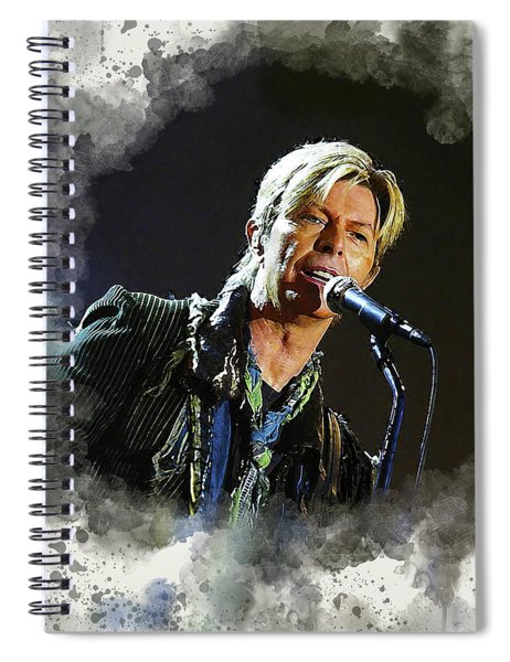 David Bowie #3 Spiral Notebook