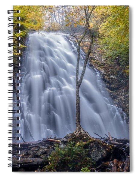 Dawn At Crabtree Falls Spiral Notebook
