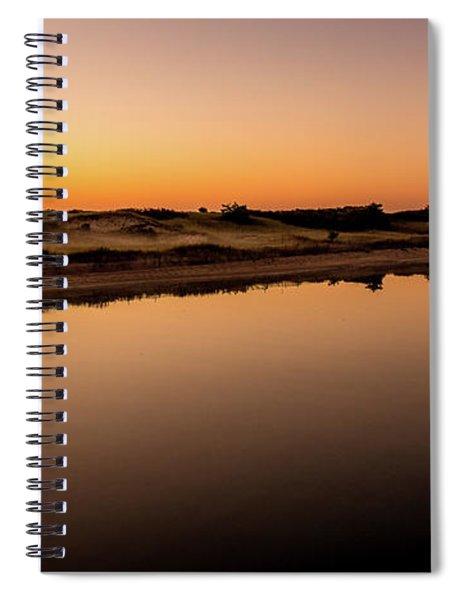 Dawn Light, Ogunquit River Spiral Notebook