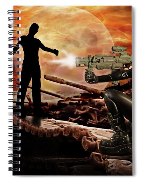 Dawn Of The Dead Spiral Notebook