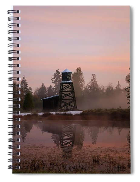 Dawning Of A New Day - Hope Valley Art Spiral Notebook