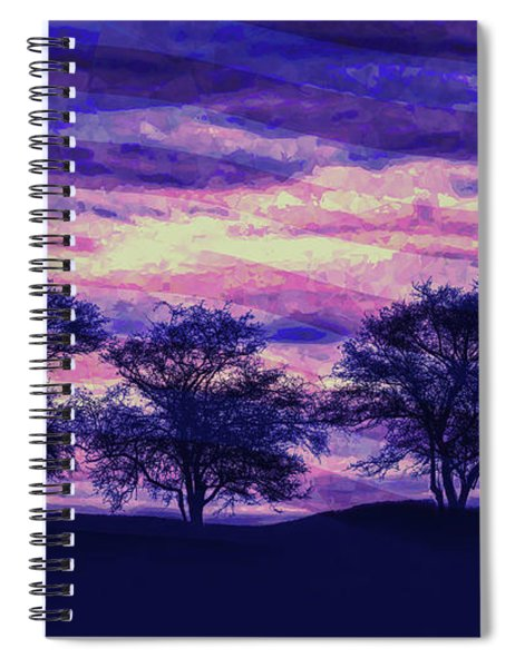 Day Is Coming Spiral Notebook
