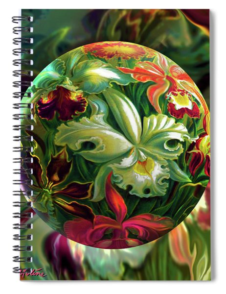 Day Lily Dreams Spiral Notebook