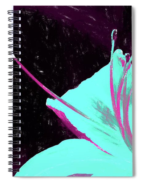 Day Lily Dual Tone  Spiral Notebook
