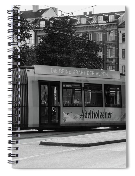 Day Tram Train Spiral Notebook