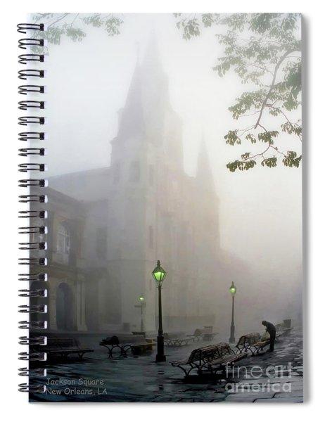 Daybreak In Jackson Square Spiral Notebook
