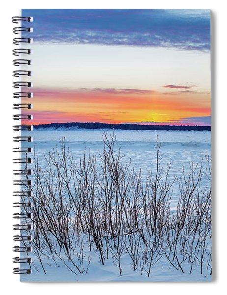 Daybreak Over East Bay Spiral Notebook