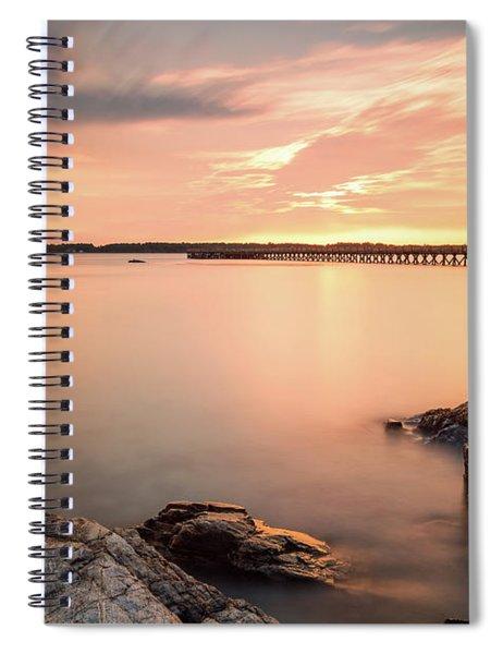 Days End Daydream  Spiral Notebook