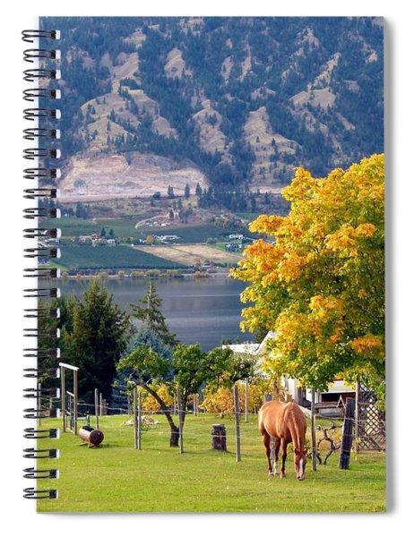 Days Of Autumn 25 Spiral Notebook