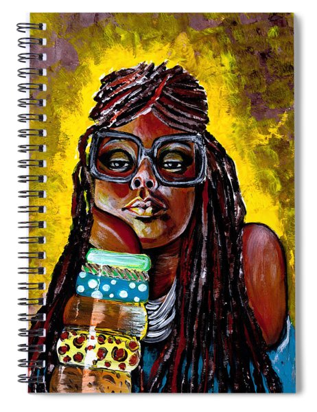 Daze Like This  Spiral Notebook