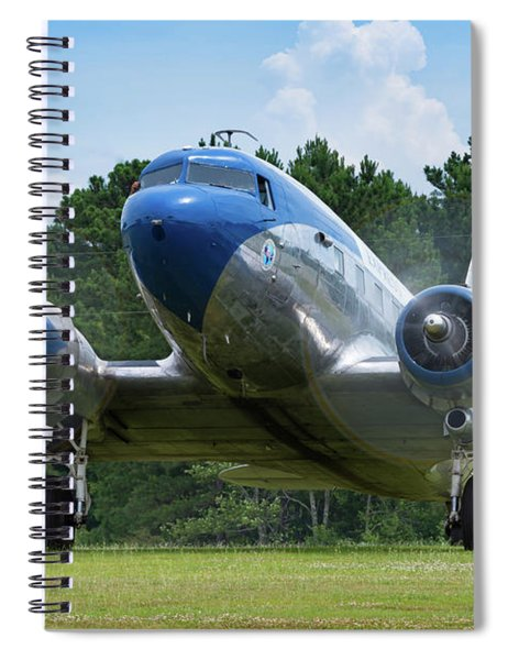 Dc-3 Runup Spiral Notebook