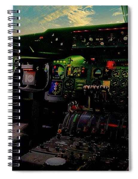 Dc10 Cockpit Left Hand Seat 521210021 Spiral Notebook