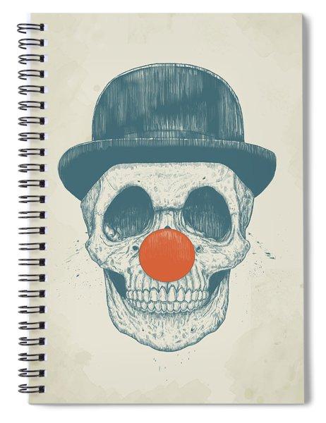 Dead Clown Spiral Notebook