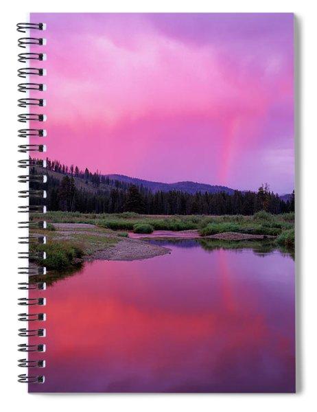 Deadwood River Spiral Notebook