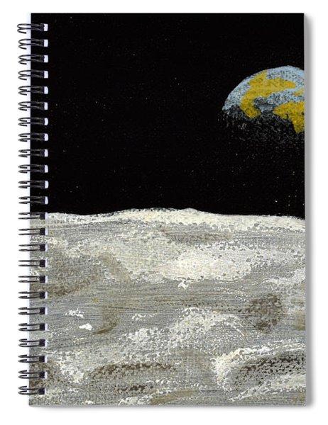 Death By Starlight Spiral Notebook