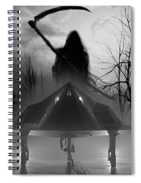 Death Is Coming For You Spiral Notebook