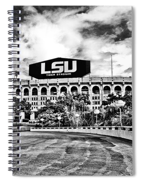Death Valley - Hdr Bw Spiral Notebook