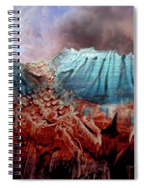 Decalcomaniac Eruption Spiral Notebook
