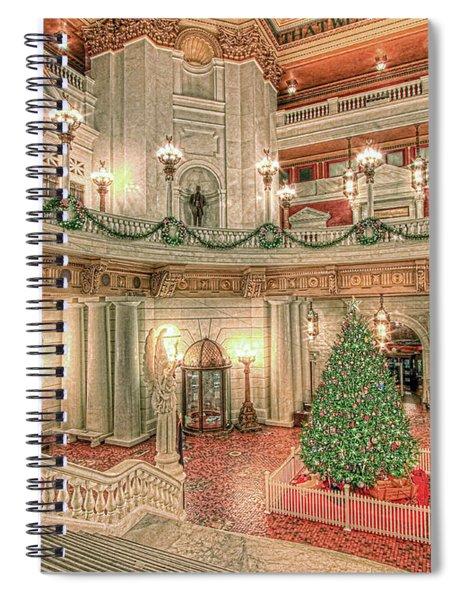 Deck The Hall Spiral Notebook
