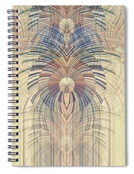 Deco Wood Spiral Notebook