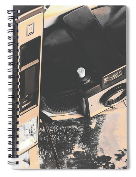 Decolourised  Spiral Notebook