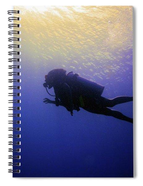 Deep Ascent Spiral Notebook