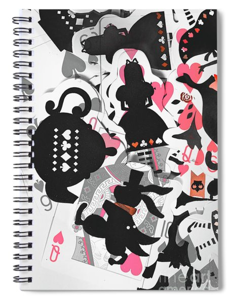 Deep Dream Design Spiral Notebook