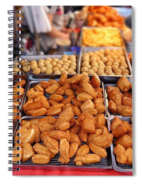 Deep Fried Chinese Bread Buns Spiral Notebook