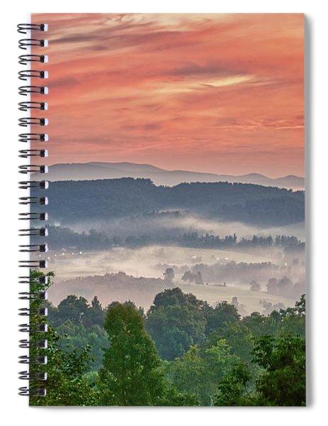 Deer Valley Sunrise Spiral Notebook