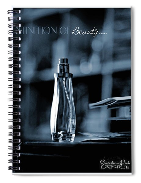 Definition Of Beauty Spiral Notebook