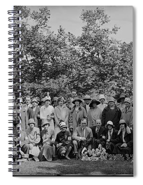 Delegates To Luther League Of America Spiral Notebook