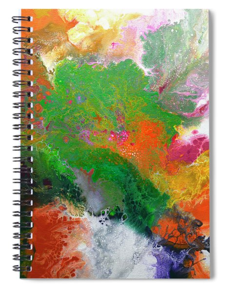 Delicate Canvas One Spiral Notebook
