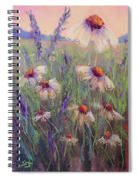 Delicate Daisies Spiral Notebook