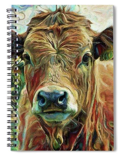 Delilah The Calf Spiral Notebook