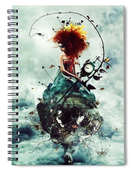 Delirium Spiral Notebook