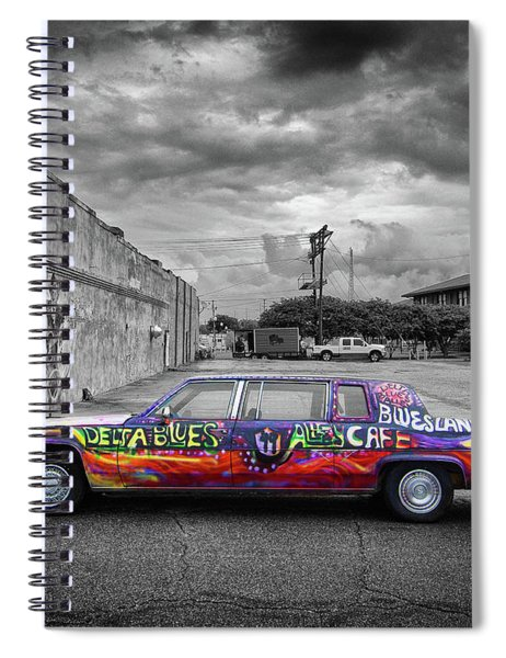 Delta Blues Limo Spiral Notebook