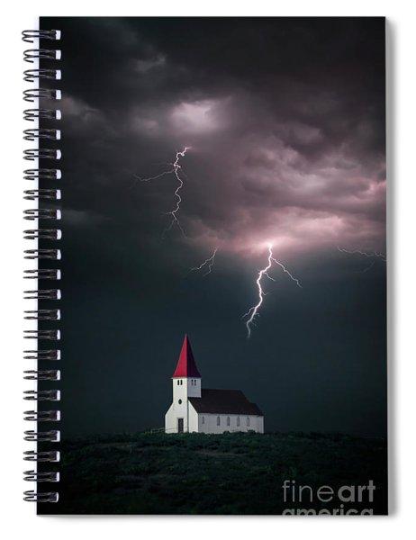 Demons Dance Spiral Notebook
