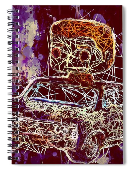 Dean Winchester Car Supernatural Pop  Spiral Notebook