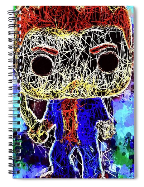 Dean Winchester Supernatural Spiral Notebook
