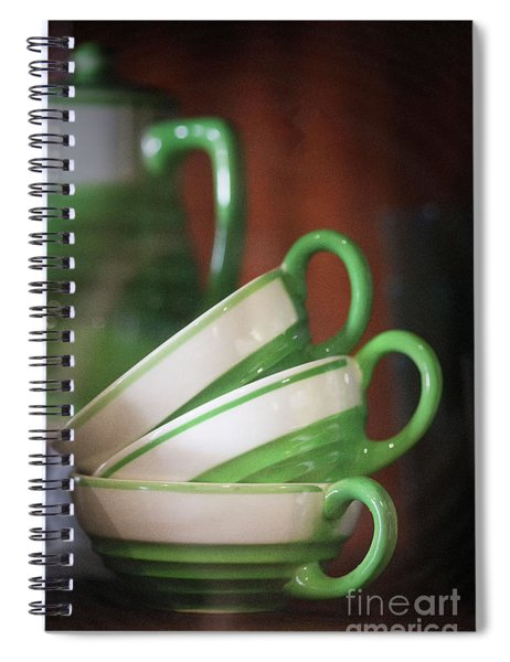 Depictions Of Lifeways Spiral Notebook