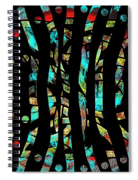 Depressed But Not Lost I Am Here Spiral Notebook