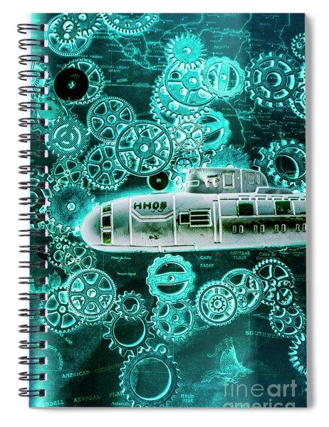Depth Charged Spiral Notebook