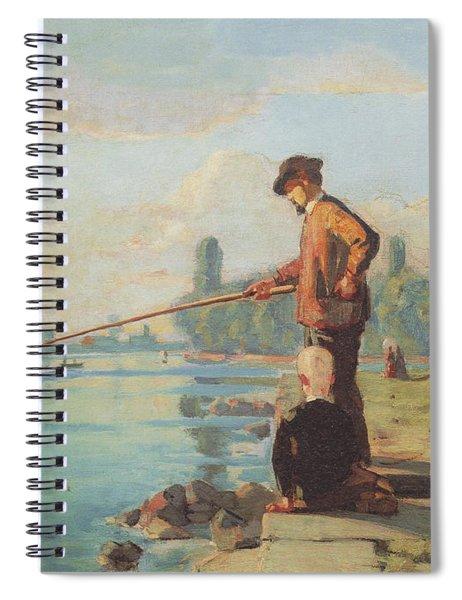 Der Angler Spiral Notebook