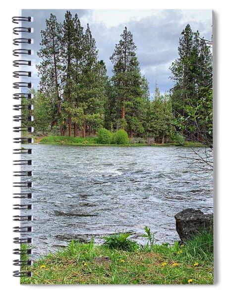 Deschutes River Spiral Notebook